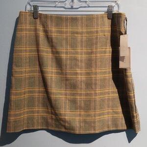 NWT 1 State Plaid Skirt
